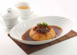 自製茶砵豆腐