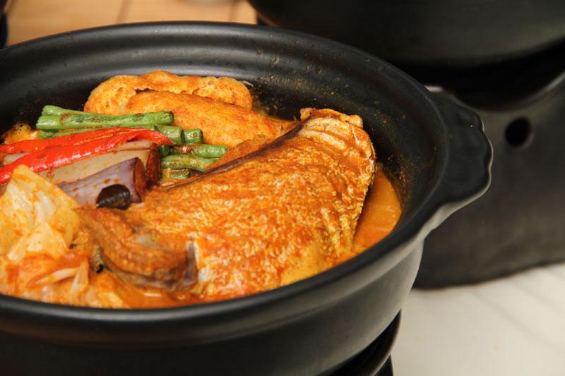 咖喱石班魚頭紅茶煲
