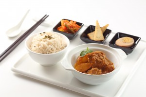 紅茶咖喱雞套餐 Black tea curry chicken rice set